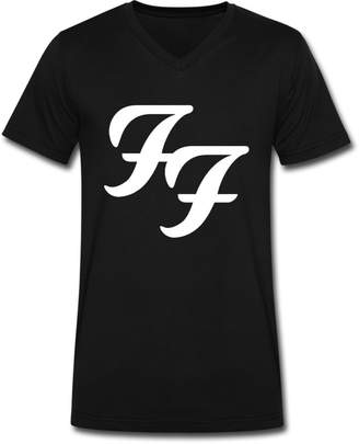 Dolce & Gabbana THE BRAND GD Men's Foo Fighters New Logo V Neck T-shirt Black XL