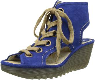 Fly London Womens Yaba 702 Suede Sandals 37 EU