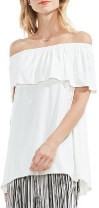 Women's Vince Camuto Ruffle Off The Shoulder Top $59 thestylecure.com