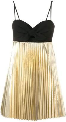 Paule Ka pleated mini dress