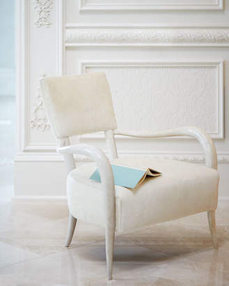 Bernhardt Belle Star Hairhide Chair