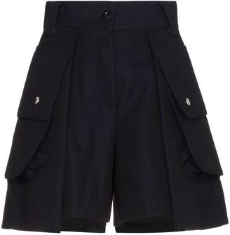 Sacai high waisted pleated shorts