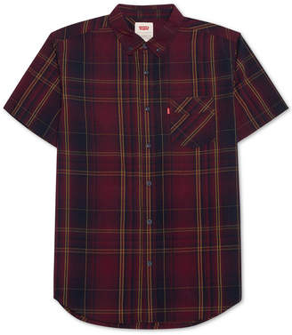 Levi's Men's Short-Sleeve Plaid Shirt