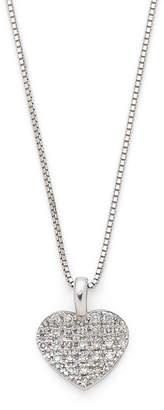 Oriental Diamond K18WGダイヤモンド ハートモチーフネックレス ホワイトゴールド