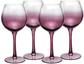 Spode Kingsley Wine Glasses, Set of 4