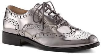 Botkier Women's Callista Metallic Wingtip Oxford Loafers