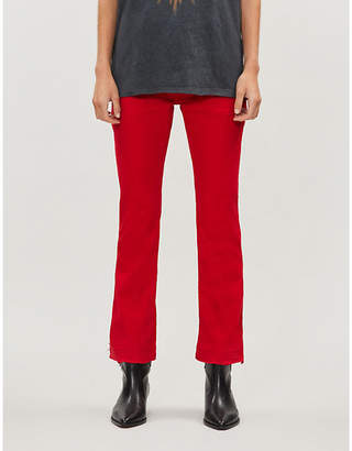 Zadig & Voltaire Zadig&Voltaire Londa kick-flare high-rise jeans