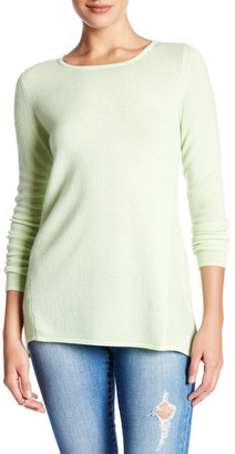 Kinross Swing Crew Cashmere Sweater $119.97 thestylecure.com