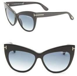 Tom Ford Nika 56MM Cat Eye Sunglasses