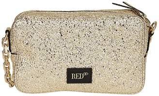 RED Valentino Crackled Shoulder Bag