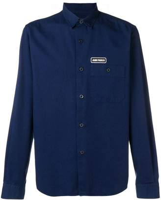 Ami Alexandre Mattiussi Ami Paris Patch Shirt