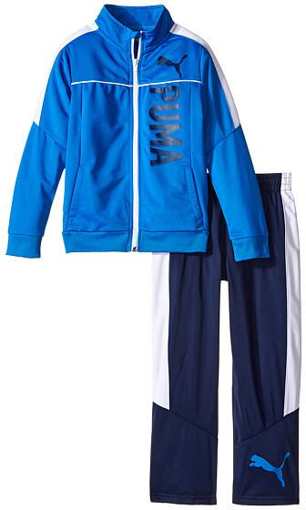Puma Kids Color Blocked Track Suit (Little Kids)