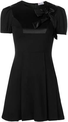 RED Valentino short-sleeve flared mini dress