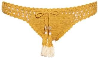 She Made Me Hira hipster crochet bikini briefs