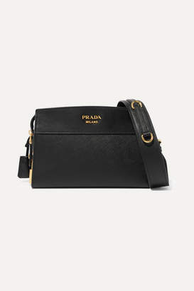 Prada Esplanade Textured Leather Shoulder Bag