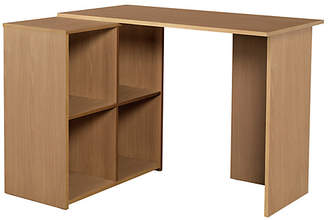 At Argos Home Calgary Corner Office Desk Oak Effect