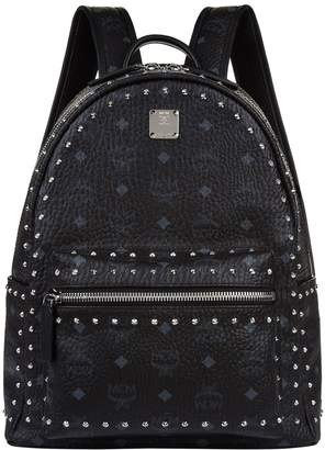 MCM Small Stud Stark Backpack