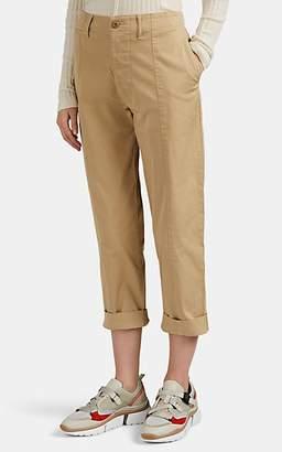 Alex Mill Women's Cotton Crop Trousers - Neutral