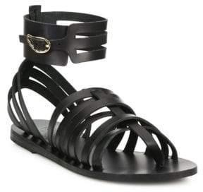 Ancient Greek Sandals Zaira Leather Gladiator Sandals