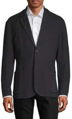 James Perse Textured Cotton Blazer