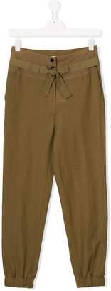 Les Coyotes De Paris cuffed casual trousers