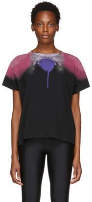 Marcelo Burlon County of Milan Black Abstract Wings T-Shirt