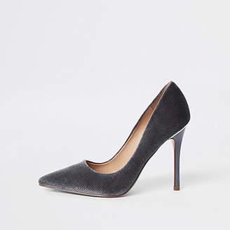 River Island Womens Light grey court shoes