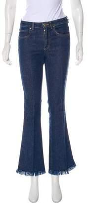 Sonia Rykiel Mid-Rise Flared Jeans