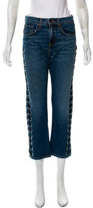 Veronica Beard Ines Mid-Rise Jeans w/ Tags
