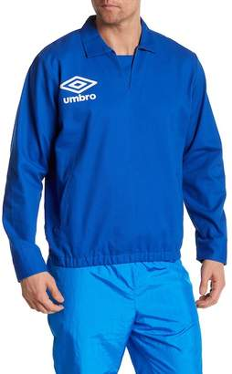 Umbro Split Neck Drill Pullover