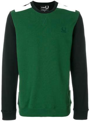 Fred Perry tape detail sweatshirt