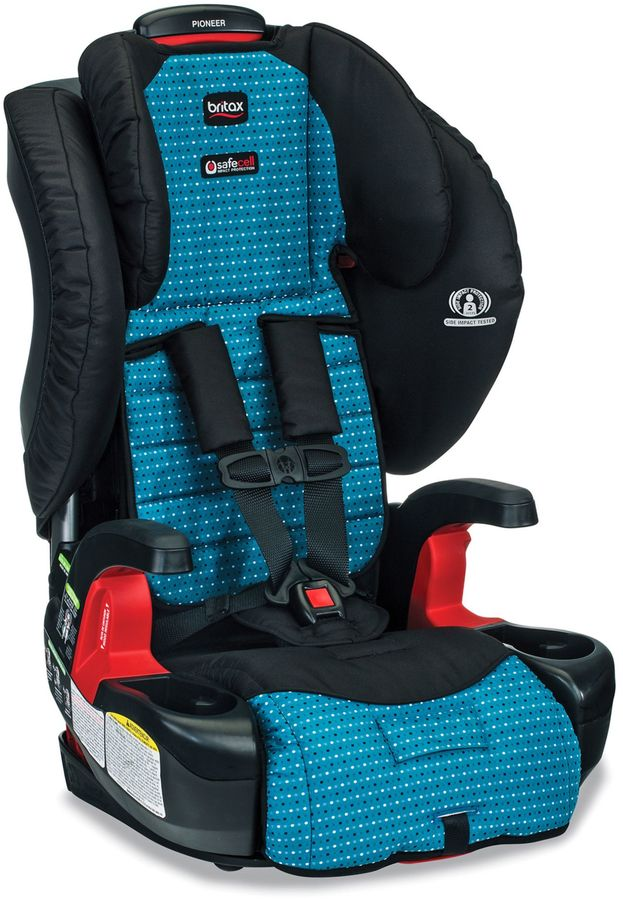 BritaxBRITAX Pioneer (G1.1) XE Series Harness-2-Booster Seat with Mat and Shades in Oasis