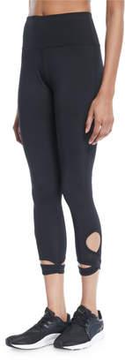 Marika Tek Bloom Wrap-Around Cropped Leggings