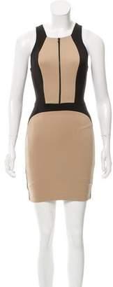 Robert Rodriguez Paneled Mini Dress