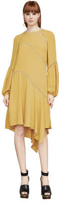 BCBGMAXAZRIA Macie Asymmetrical A-Line Dress
