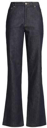 A.P.C. High-Rise Bootcut Jeans