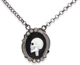Vintouch Italy - Skully Cameo Necklace