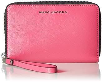 Marc Jacobs Saffiano Bicolor Zip Phone Wristlet