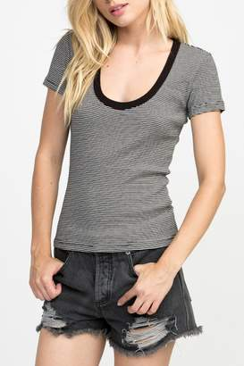 RVCA Motives Striped Top