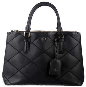 Tory Burch Robinson Stitched Double Zip Tote