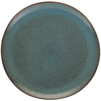 Olmo Turquoise Turquoise speckled dinner plate 27cm