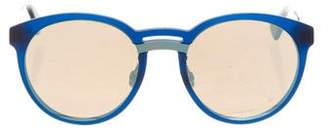 Christian Dior Onde 1 Mirrored Sunglasses