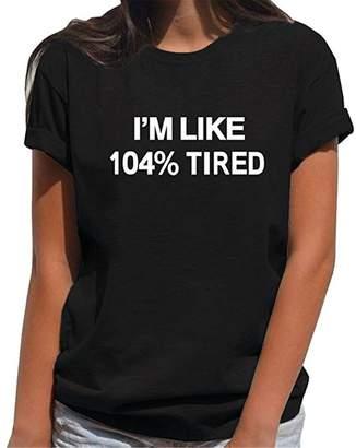 289237fb6516 ALAPUSA Teen Girl Funny T Shirts - Women Cute Tops Short Sleeve Graphic Tee