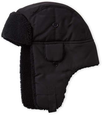 Nautica Black Trapper Hat