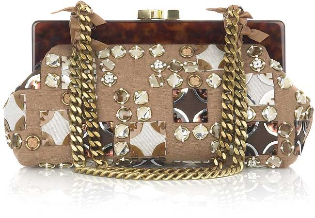 Chloe Alice small embellished bag