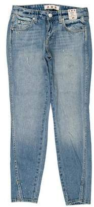 Amo Twist Mid-Rise Distressed Jeans w/ Tags