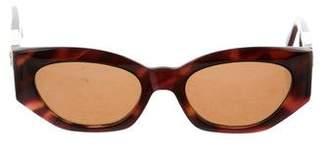 Gianni Versace Medusa Tortoiseshell Sunglasses