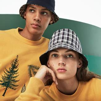 Lacoste Unisex Fashion Show Reversible Technical Poplin And Canvas Bob