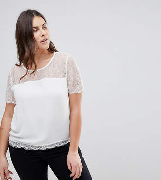 Asos Lipsy Curve Lace Top