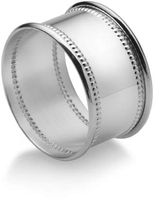 Empire SilverTM Beaded Sterling Napkin Ring